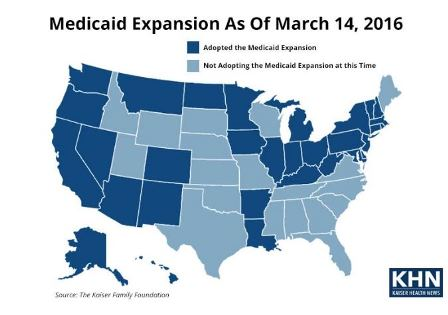 Study: Medicaid Expansion Encourages More Poor Adults to Get Health Care