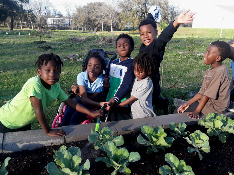 CHA Led Project: Teaching Children to Garden