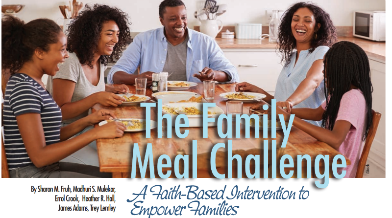 New Publication: The Family Meal Challenge: A Faith-Based Intervention to Empower Families